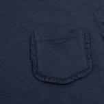 Женская футболка YMC Ruffle Navy фото- 2