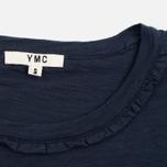 Женская футболка YMC Ruffle Navy фото- 3