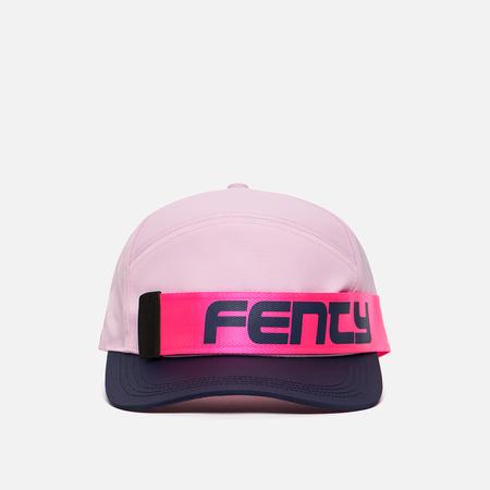 Женская кепка Puma x Rihanna Fenty Giant Strap Pink Lady/Evening Blue