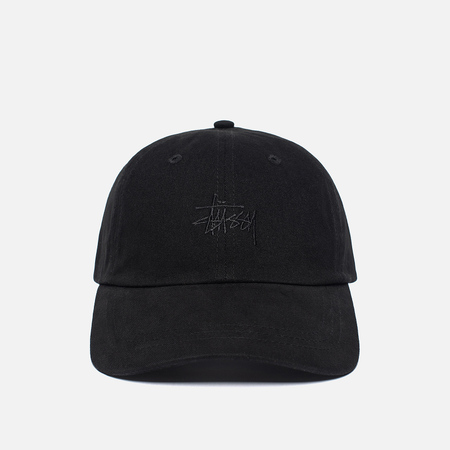 Женская кепка Stussy Basic Logo Low Pro Black