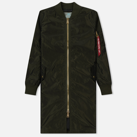 Женская куртка Alpha Industries MA-1 LW Dark Green