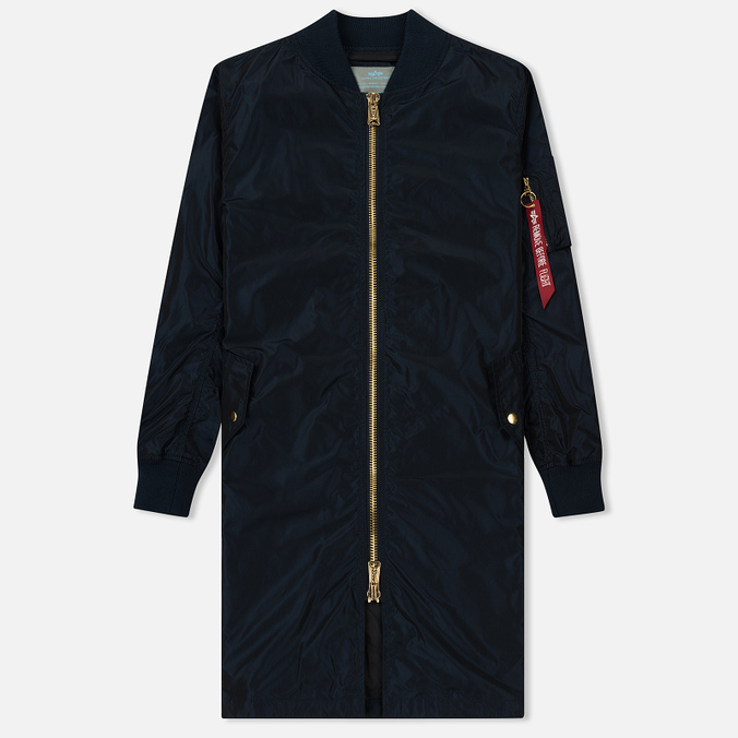Женская куртка Alpha Industries MA-1 LW Replica Blue
