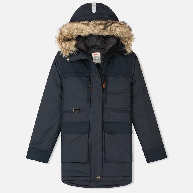 Женская куртка аляска Fjallraven Polar Guide Dark Navy