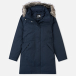 Женская куртка аляска The North Face Arctic Outer Space Blue фото- 0