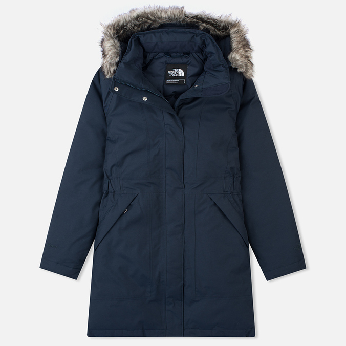 Женская куртка аляска The North Face Arctic Outer Space Blue