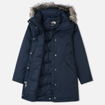 Женская куртка аляска The North Face Arctic Outer Space Blue фото- 1