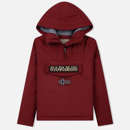 Женская куртка анорак Napapijri Rainforest Winter 2 Red Bourgogne