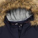 Женская куртка анорак Napapijri Skidoo Eco-Fur Blue Marine фото- 1