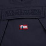 Женская куртка анорак Napapijri Skidoo Eco-Fur Blue Marine фото- 2