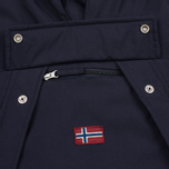 Женская куртка анорак Napapijri Skidoo Eco-Fur Blue Marine фото- 5