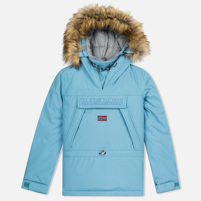 Женская куртка анорак Napapijri Skidoo Eco-Fur Frost