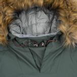 Женская куртка анорак Napapijri Skidoo Eco-Fur Grey/Green фото- 1
