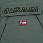 Женская куртка анорак Napapijri Skidoo Eco-Fur Grey/Green фото- 2