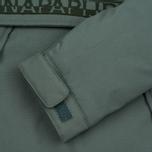 Женская куртка анорак Napapijri Skidoo Eco-Fur Grey/Green фото- 3