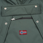 Женская куртка анорак Napapijri Skidoo Eco-Fur Grey/Green фото- 4