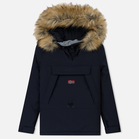 Женская куртка анорак Napapijri Skidoo Woman EF 2 Blue Marine