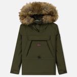 Женская куртка анорак Napapijri Skidoo Woman EF 2 Green Musk фото- 0