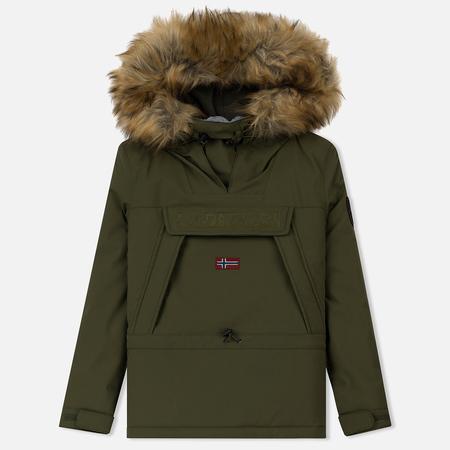 Женская куртка анорак Napapijri Skidoo Woman EF 2 Green Musk
