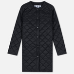 Женская куртка Barbour Heritage Collarless Border Quilted Black фото- 0