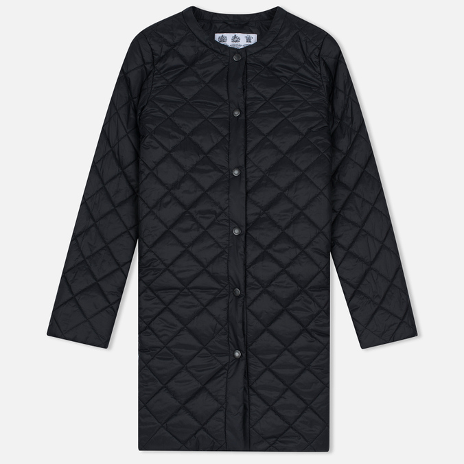 Женская куртка Barbour Heritage Collarless Border Quilted Black