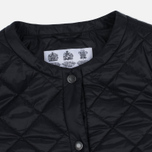 Женская куртка Barbour Heritage Collarless Border Quilted Black фото- 1