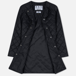 Женская куртка Barbour Heritage Collarless Border Quilted Black фото- 2