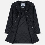 Barbour Heritage Collarless Border Quilted Women's Jacket Black photo- 2