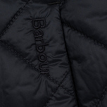 Женская куртка Barbour Heritage Collarless Border Quilted Black фото- 4