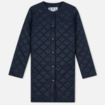 Женская куртка Barbour Heritage Collarless Border Quilted Navy фото- 0