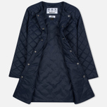 Женская куртка Barbour Heritage Collarless Border Quilted Navy фото- 2