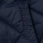 Женская куртка Barbour Heritage Collarless Border Quilted Navy фото- 4