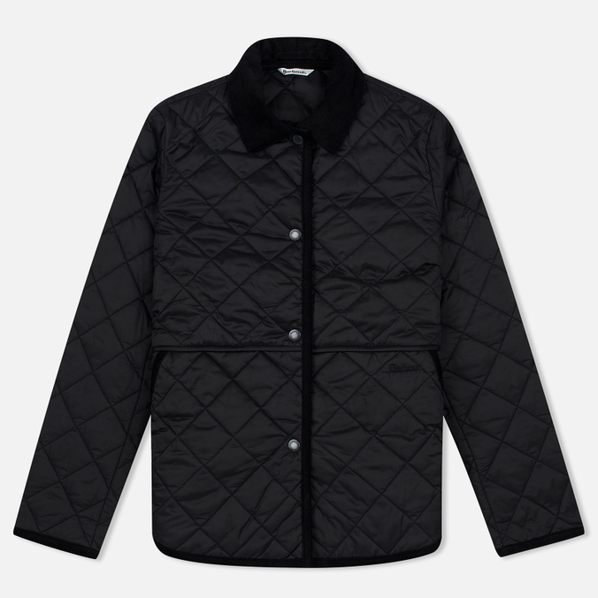 Женская куртка Barbour Heritage Re-Worked Liddesdale Quilted Black