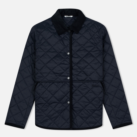 Barbour Heritage Re-Worked Liddesdale Quilted Navy