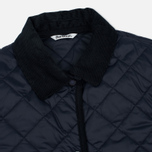 Barbour Heritage Re-Worked Liddesdale Quilted Navy photo- 2