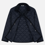 Barbour Heritage Re-Worked Liddesdale Quilted Navy photo- 1