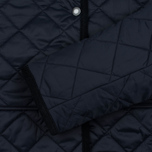 Barbour Heritage Re-Worked Liddesdale Quilted Navy photo- 3