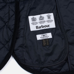 Barbour Heritage Re-Worked Liddesdale Quilted Navy photo- 4