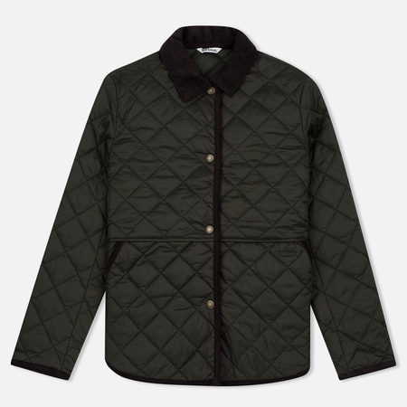 Barbour Heritage Re-Worked Liddesdale Quilted Women Jacket Sage