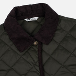 Barbour Heritage Re-Worked Liddesdale Quilted Women Jacket Sage photo- 2