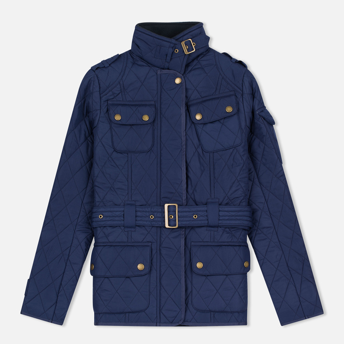 Женская куртка Barbour International Tourer Royal Blue/Navy