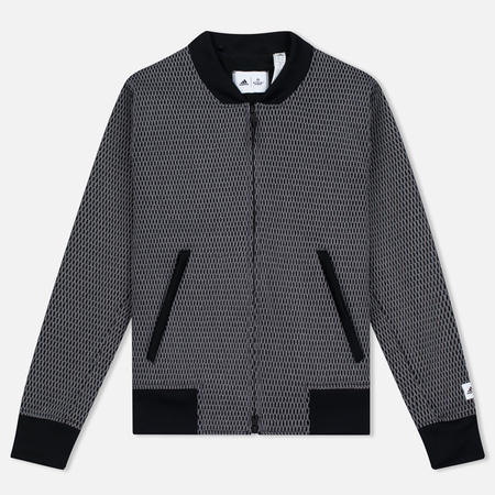 Женская куртка бомбер adidas Originals x Reigning Champ Engineered Spacer Mesh Black Melange