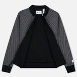 Женская куртка бомбер adidas Originals x Reigning Champ Engineered Spacer Mesh Black Melange фото- 3