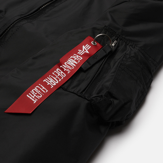 Женская куртка бомбер Alpha Industries MA-1 TT Black