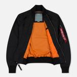 Женская куртка бомбер Alpha Industries MA-1 TT Black фото- 3