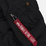 Женская куртка бомбер Alpha Industries MA-1 TT Black фото- 6