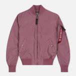 Женская куртка бомбер Alpha Industries MA-1 TT Dusty Pink фото- 0