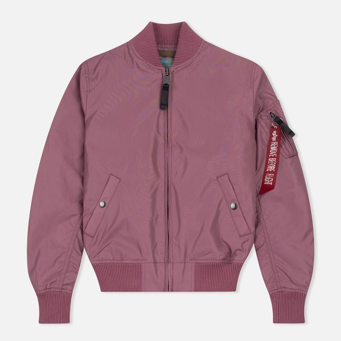 Женская куртка бомбер Alpha Industries MA-1 TT Dusty Pink