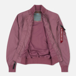 Женская куртка бомбер Alpha Industries MA-1 TT Dusty Pink фото- 3