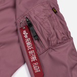 Женская куртка бомбер Alpha Industries MA-1 TT Dusty Pink фото- 6