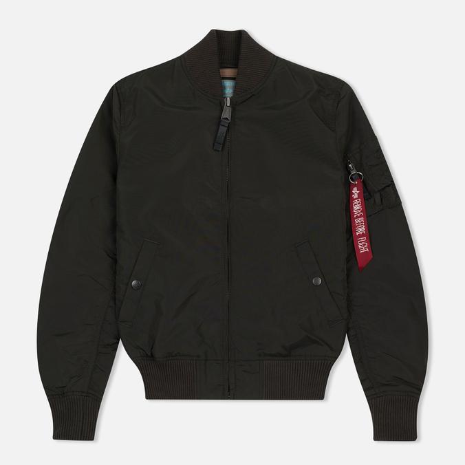 Женская куртка бомбер Alpha Industries MA-1 TT Grey